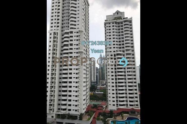 Condominium For Rent in Angkasa Impian 2, Bukit Ceylon Freehold Semi Furnished 2R/2B 2.5k