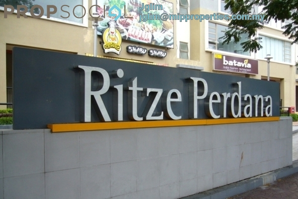 Apartment For Rent in Ritze Perdana 1, Damansara Perdana Leasehold Fully Furnished 1R/1B 1.2k