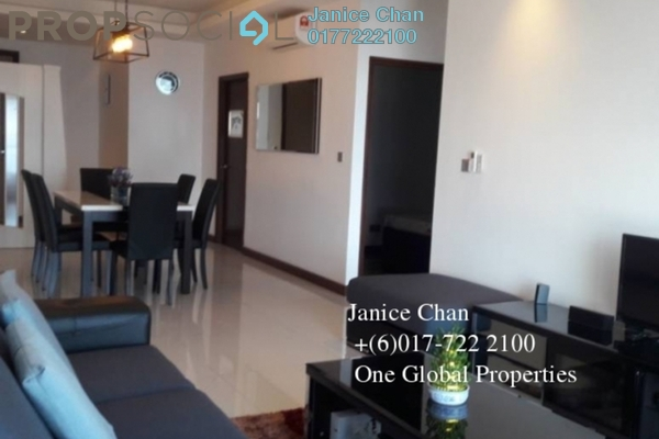Condominium For Rent in Paragon Residences @ Straits View, Johor Bahru Freehold Semi Furnished 1R/2B 2k