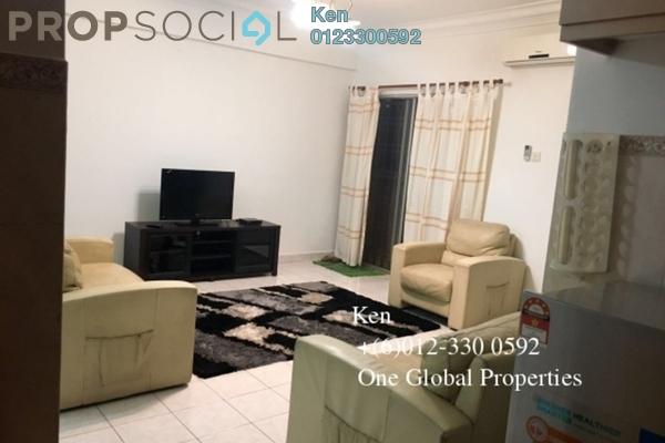 Condominium For Rent in Pelangi Damansara, Bandar Utama Freehold Fully Furnished 3R/2B 1.7k