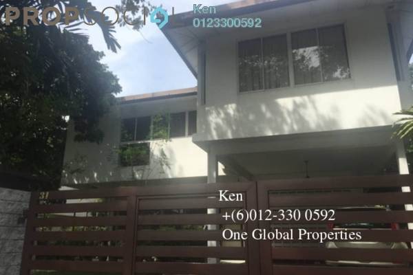 Bungalow For Rent in Petaling Jaya Commercial City, PJ South Freehold Semi Furnished 5R/5B 3.5k