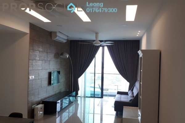 Condominium For Rent in LakePark Residence @ KL North, Selayang Freehold Fully Furnished 3R/3B 2.5k