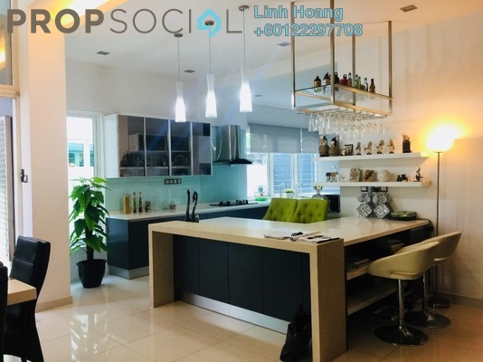 Semi-Detached For Sale in Palm Reserve, Damansara Jaya Freehold Fully Furnished 6R/6B 3.5m