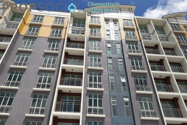 Apartment For Sale in Barrington Square, Brinchang Freehold Semi Furnished 1R/1B 324k