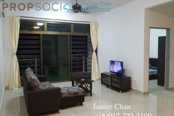 Serviced Residence For Rent in Parc Regency, Johor Bahru Freehold Fully Furnished 3R/2B 1.5k
