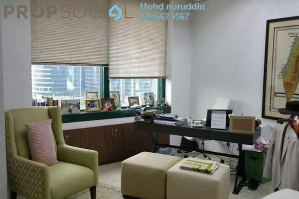 Office For Rent in Menara Bangsar, Bangsar Freehold Semi Furnished 0R/0B 8.26k