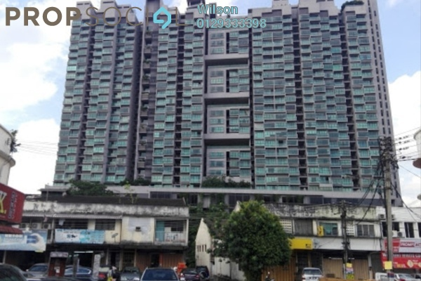 Condominium For Rent in The Leafz, Sungai Besi Freehold Fully Furnished 2R/2B 1.7k