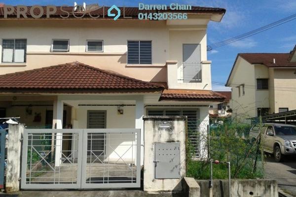 Terrace For Sale in Section 4, Bandar Mahkota Cheras Freehold Unfurnished 4R/3B 500k