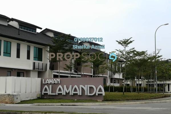 Terrace For Sale in Alamanda Superlink Homes 2, Kota Seriemas Freehold Unfurnished 4R/4B 630k