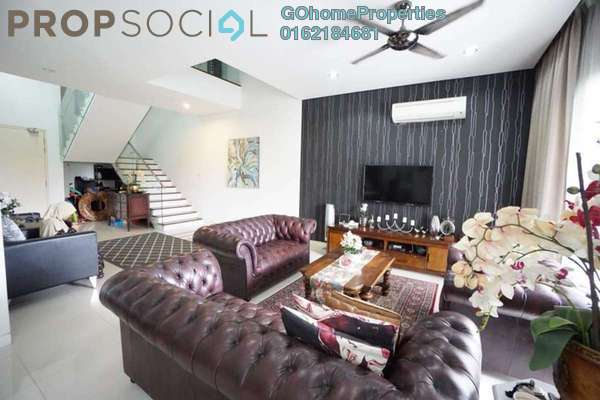Duplex For Sale in 280 Park Homes, Puchong Freehold Semi Furnished 5R/5B 1.2m