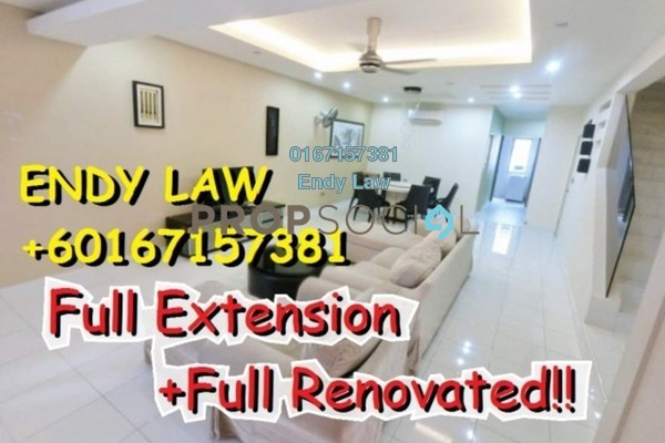 For Sale Terrace at Goodfields Residence, Bukit Minyak Freehold Semi Furnished 4R/3B 596k