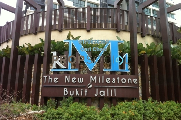 Condominium For Rent in KM1, Bukit Jalil Freehold Fully Furnished 4R/4B 5.8k