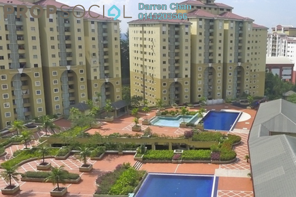 Condominium For Sale in Ketumbar Heights, Cheras Freehold Semi Furnished 3R/2B 350k