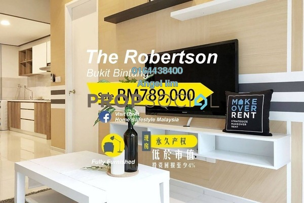 Condominium For Sale in The Robertson, Pudu Freehold Fully Furnished 1R/1B 789k