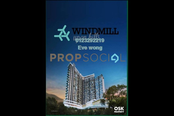 SoHo/Studio For Sale in Windmill Upon Hills, Genting Highlands Freehold Fully Furnished 1R/1B 410k