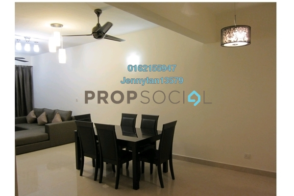 Condominium For Rent in Rivercity, Sentul Freehold Fully Furnished 3R/2B 2k