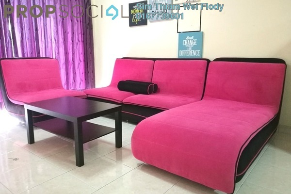 For Rent Condominium at Koi Tropika, Puchong Freehold Fully Furnished 3R/2B 1.35k
