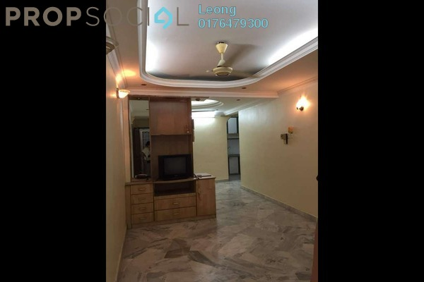 Apartment For Sale in Greenview Apartment, Kepong Freehold Semi Furnished 3R/2B 208k