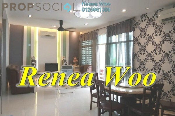 Condominium For Rent in Ideal Regency, Bukit Gambier Freehold Fully Furnished 3R/2B 2.1k