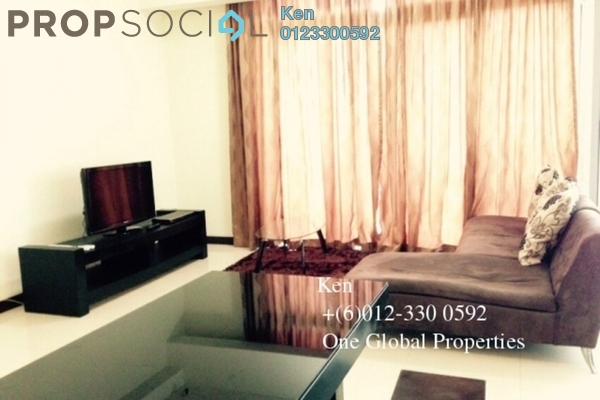 Condominium For Rent in Hampshire Place, KLCC Freehold Fully Furnished 1R/2B 3.3k
