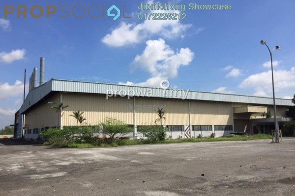 Factory For Sale in Taman Sri Bayu, Rawang Freehold Unfurnished 0R/0B 7.8m