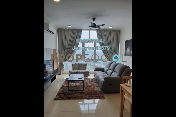 Condominium For Rent in Boulevard Serviced Apartment, Jalan Ipoh Freehold Fully Furnished 3R/2B 2.5k