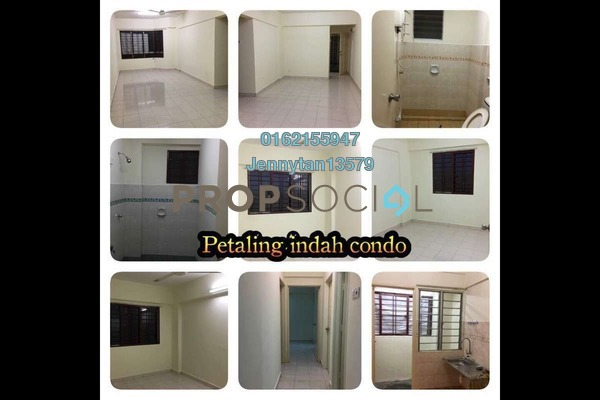 Condominium For Sale in Petaling Indah, Sungai Besi Freehold Semi Furnished 3R/2B 310k