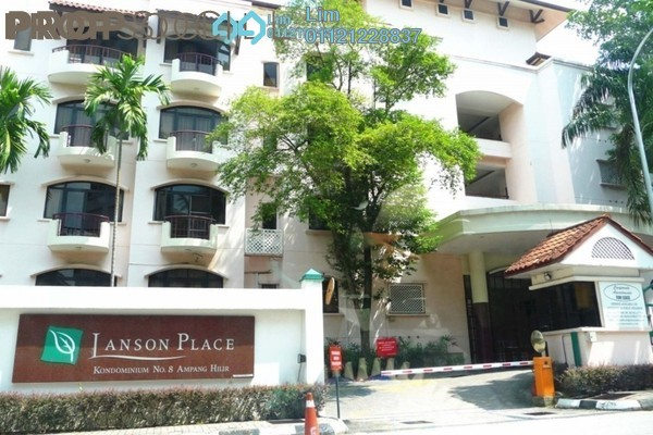 Condominium For Rent in Kondominium 8, Ampang Hilir Freehold Semi Furnished 2R/4B 3.7k