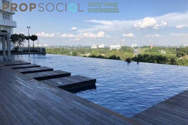 Apartment For Rent in Nasa City, Johor Bahru Freehold Fully Furnished 2R/1B 1.5k