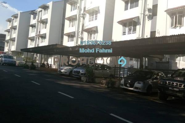 Apartment For Sale in Mahsuri Apartment, Setiawangsa Freehold Semi Furnished 3R/2B 360k