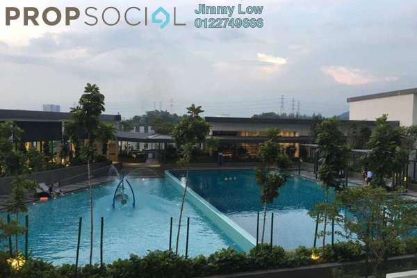 Condominium For Rent in Skyvilla @ D'Island, Puchong Freehold Unfurnished 3R/2B 2k