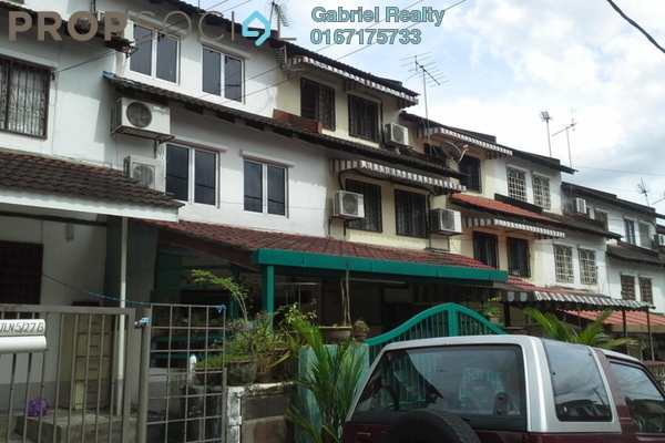 Terrace For Rent in Desa Setapak, Setapak Freehold Semi Furnished 3R/2B 1.5k