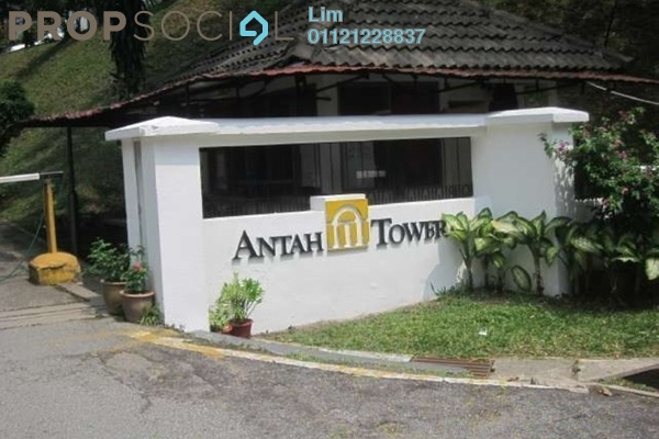 Condominium For Rent in Antah Tower, Dutamas Freehold Semi Furnished 4R/3B 1.9k