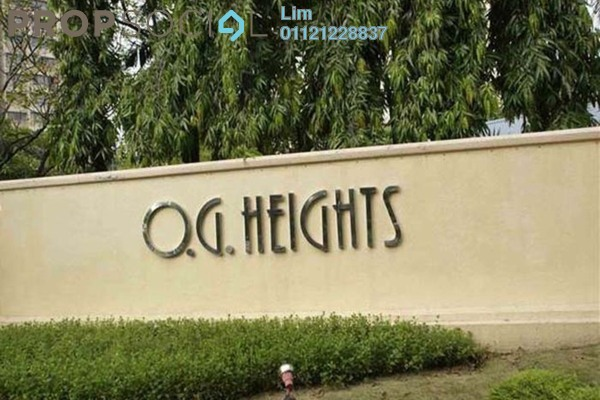 Condominium For Sale in OG Heights, Old Klang Road Freehold Semi Furnished 2R/1B 320k