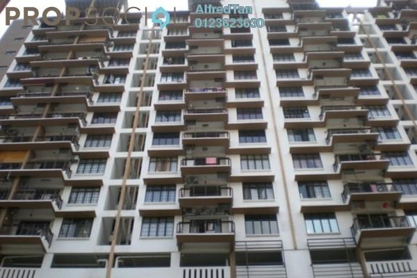 For Rent Condominium at Diamond Residences, Setapak Freehold Semi Furnished 3R/2B 1.7k