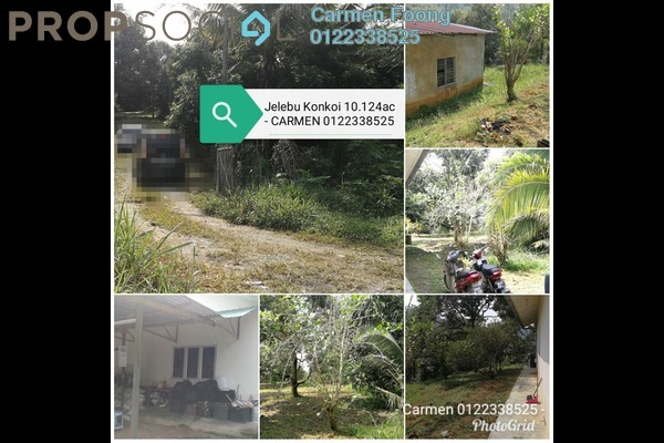 Land For Sale in Kuala Klawang, Jelebu Freehold Semi Furnished 0R/0B 6m