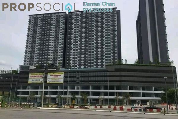 Condominium For Rent in Kiara Plaza, Semenyih Freehold Semi Furnished 3R/2B 1.7k