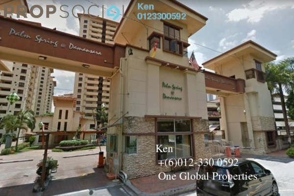 Condominium For Rent in Palm Spring, Kota Damansara Leasehold Semi Furnished 3R/2B 1.5k