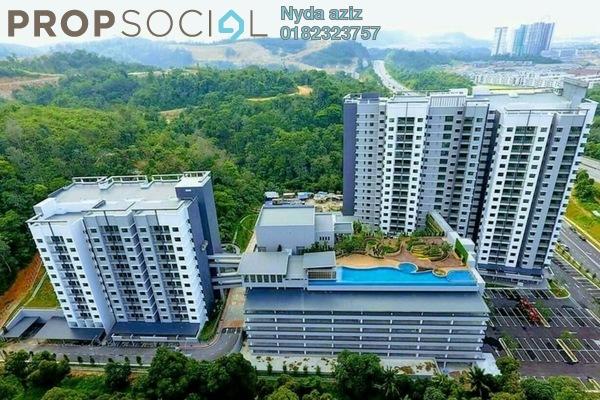 Condominium For Rent in Sutera Pines, Bandar Sungai Long Freehold Unfurnished 3R/2B 1.5k