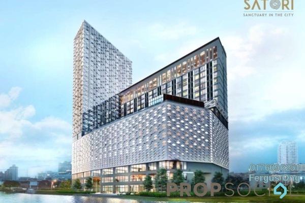 Serviced Residence For Sale in Satori, Melaka Leasehold Fully Furnished 1R/1B 475k