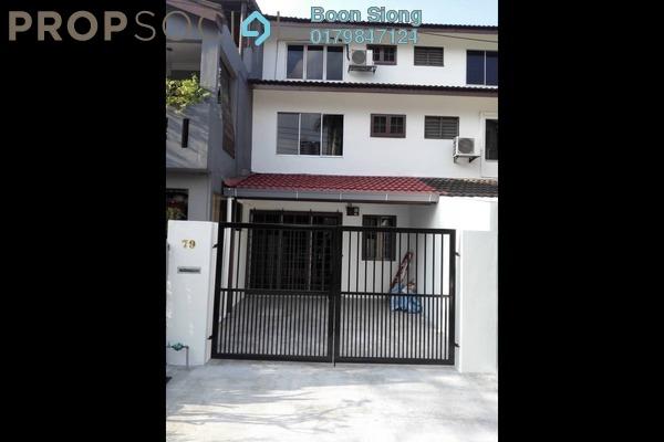 Terrace For Rent in Taman Sri Sinar, Segambut Freehold Unfurnished 3R/2B 1.2k