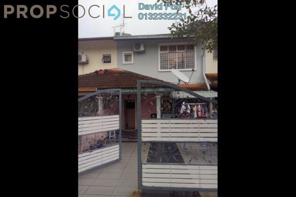 Terrace For Sale in Section 5, Bandar Mahkota Cheras Freehold Semi Furnished 4R/3B 700k