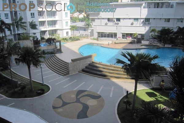 Condominium For Sale in Ideal Regency, Bukit Gambier Freehold Fully Furnished 3R/2B 750k