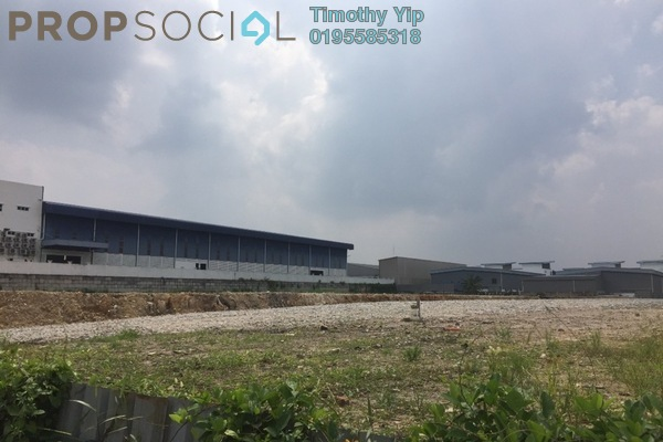 Land For Rent in Taming Jaya Industrial Park, Balakong Freehold Unfurnished 0R/0B 35.5k