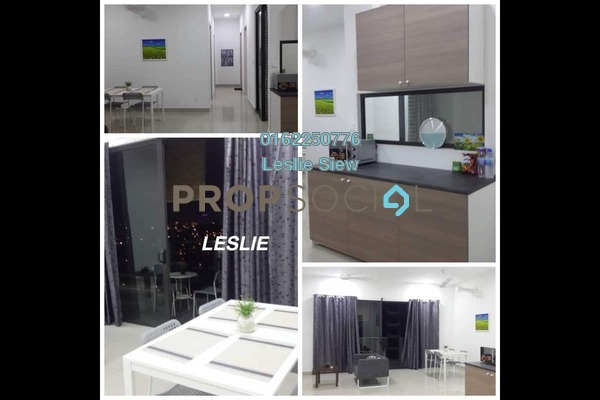 Serviced Residence For Sale in CitiZen, Old Klang Road Freehold Semi Furnished 2R/2B 680k
