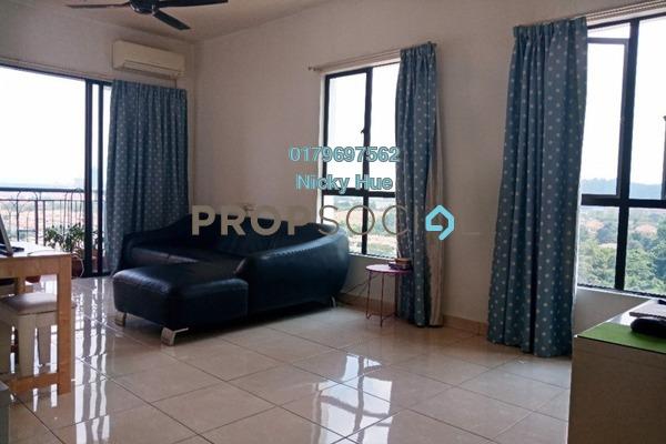 Condominium For Sale in Casa Indah 1, Tropicana Freehold Semi Furnished 2R/2B 630k