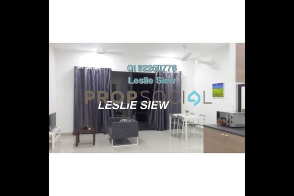 Serviced Residence For Sale in CitiZen, Old Klang Road Leasehold Semi Furnished 2R/2B 625k