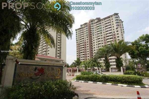 For Rent Condominium at Bayu Tasik 2, Bandar Sri Permaisuri Freehold Unfurnished 3R/2B 1.3k