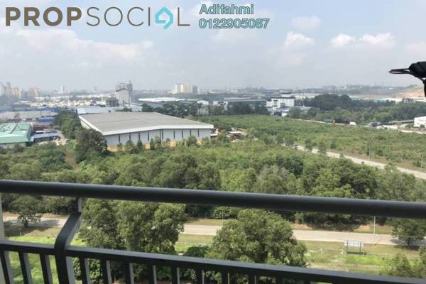 Condominium For Rent in Kristal View, Shah Alam Freehold Fully Furnished 4R/2B 1.8k