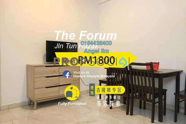 Condominium For Rent in The Forum, KLCC Freehold Fully Furnished 2R/2B 1.8k